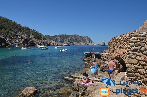 Baie de la plage de Benirras - Ibiza