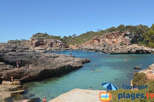 Calanque Almunia à Majorque