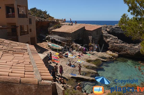 Port dans la Cala Almunia à Majorque