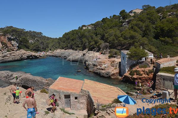 Photo de la Cala Almunia à Majorque