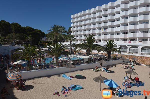 Hôtel à côté de la plage de Cala d'Or - Cala Egos