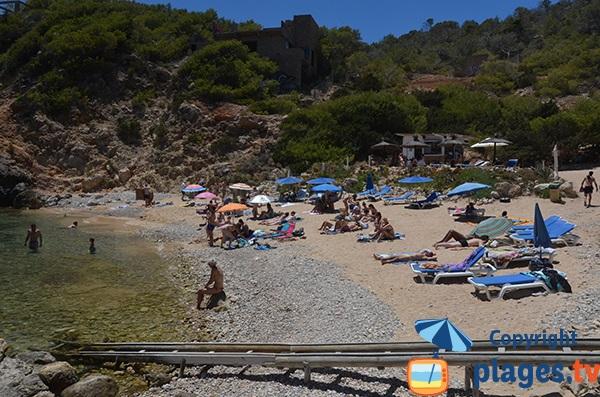 Location de matelas sur la plage d'En Serra - Ibiza