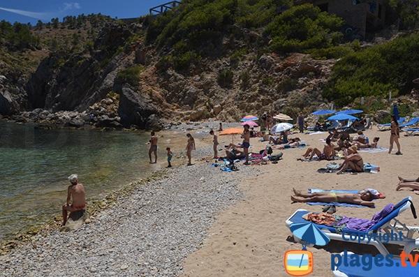 Crique au nord est d'Ibiza - En Serra
