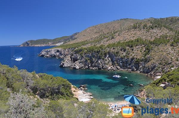 Cala d'En Serra à Ibiza