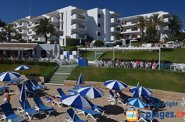 Hôtel à côté de la Cala Esmeralda - Cala d'Or - Majorque