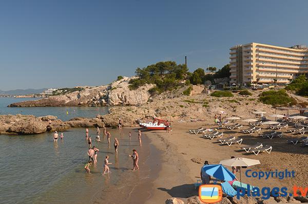 Cala de la Font à Salou en Espagne