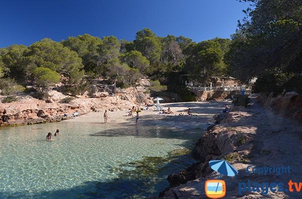 Belle crique à Sant Antoni - Ibiza