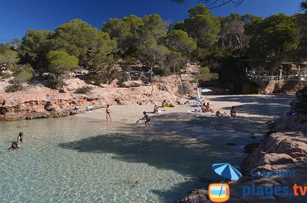 Crique paradisiaque à Ibiza - Cala Gracioneta