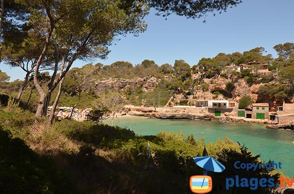Cala Llombards à Majorque