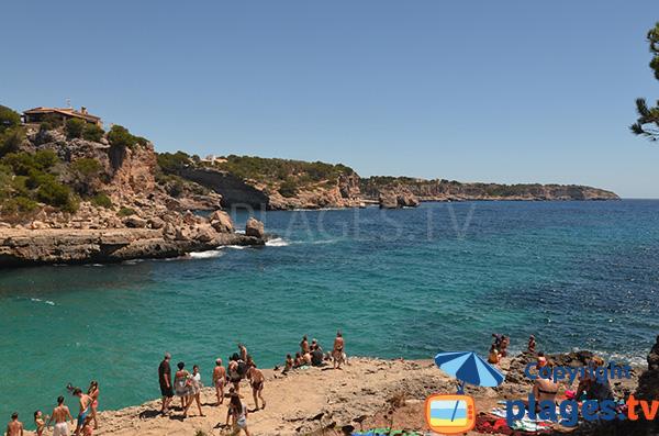 Plonger à Cala Llombards - Majorque