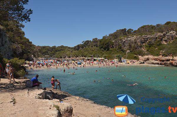 Plage de Cala Llombards à Majorque