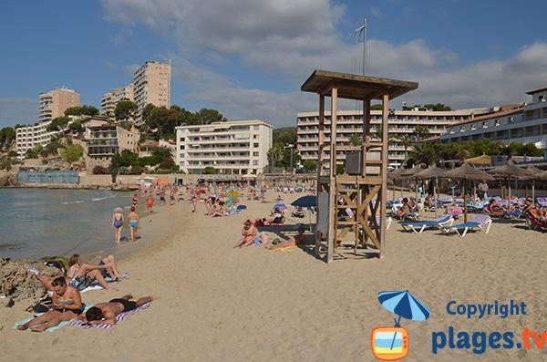 Plage surveillée de Cala Major - Palma de Majorque