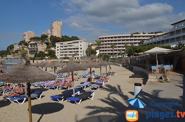 Restaurant sur la plage de Cala Major - Palma de Majorque