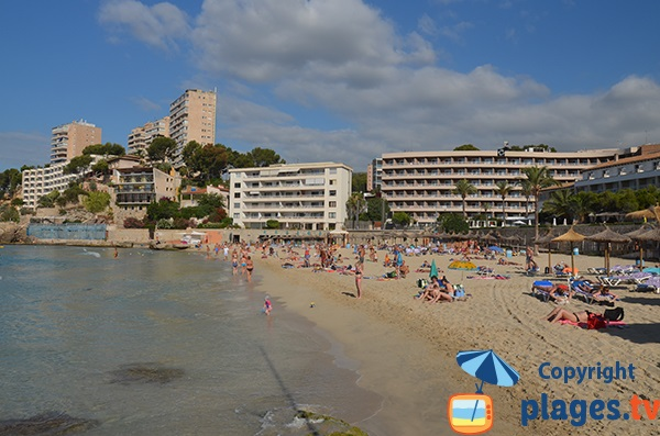 Photo de la plage de Cala Major à Palma de Majorque