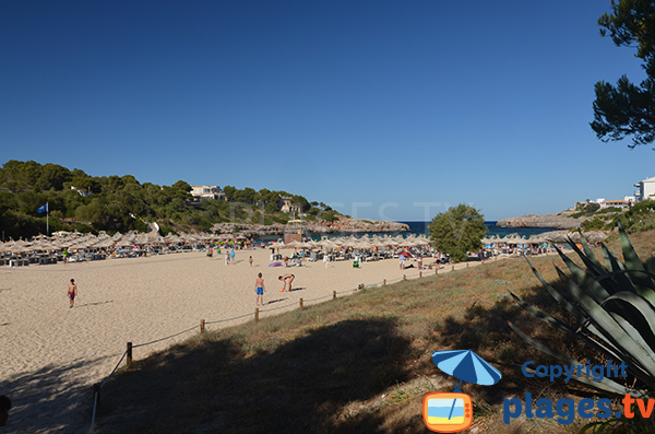 Photo de la plage de Cala Marcal à Majorque - Portocolom