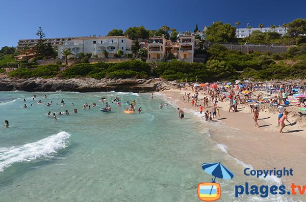 Cala Mendia à Porto Cristo à Majorque - Baléares