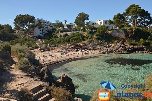 Crique de sable à Cala Blava - Majorque - Cala Moques