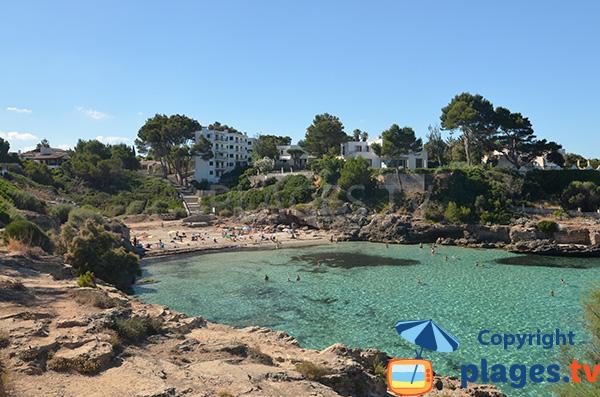 Photo de la Cala Moques à Cala Blava - Majorque