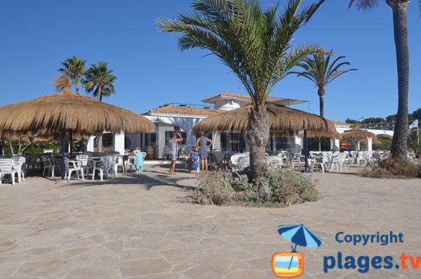 Restaurant sur la plage de Cala Murada - Majorque
