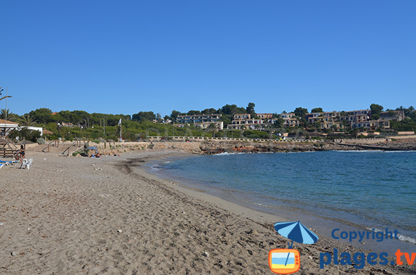 Plage de sable à Cales de Mallorca