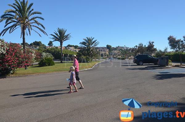 Parking de la plage de Cala Murada - Majorque