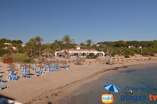 Photo de la plage de Cala Murada à Cales de Mallorca - Espagne
