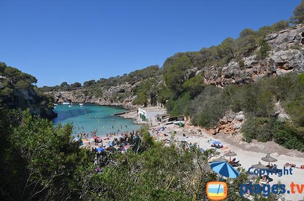 Fjord majorque à Majorque - Cala Pi