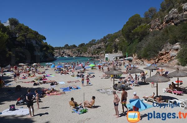 Plage de Cala Pi sur l'ile de Majorque