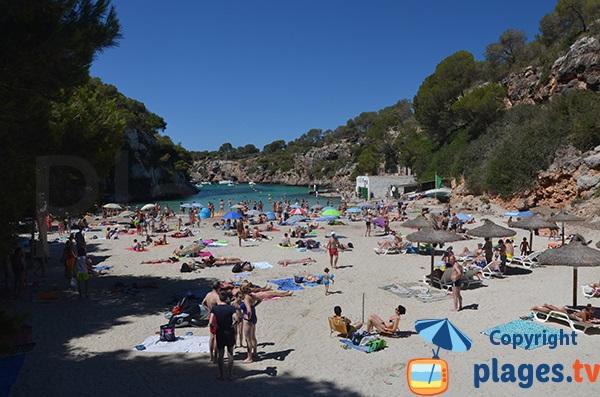 Belle plage à Majorque - Cala Pi