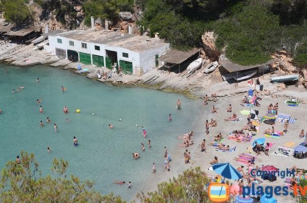 Baignade à Cala Pi à Majorque