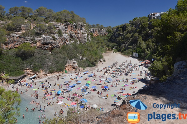 Photo de la plage de Cala Pi à Majorque - Iles Baléares