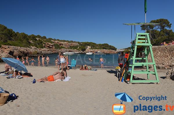 Plage de Cala Sa Nau à Majorque