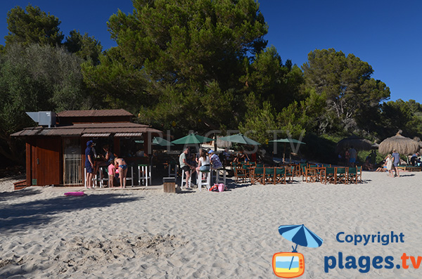 Bar dans la Cala Sa Nau - Majorque