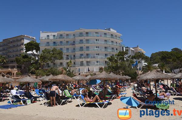 Hôtels sur la plage de Cala de Santanyi à Majorque