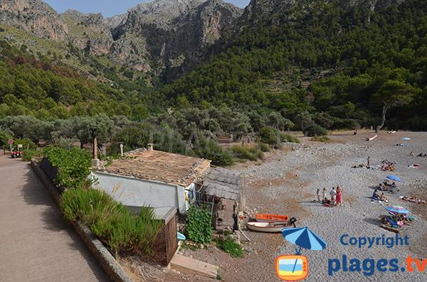 Cala Tuent sur l'ile de Majorque