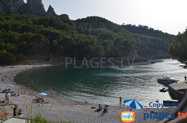 Baignade sur la côte ouest de Majorque - Cala Huent