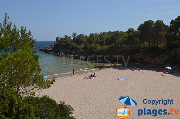 Photo de la plage de Calafato à Calafat - Sud de Tarragone