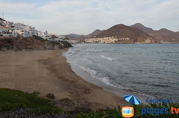 Photo de la plage de La Calilla à San Jose - Espagne