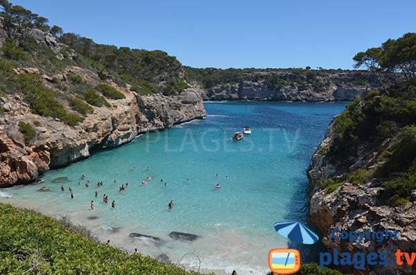 Photo de la plage de Calo del Moro - Majorque