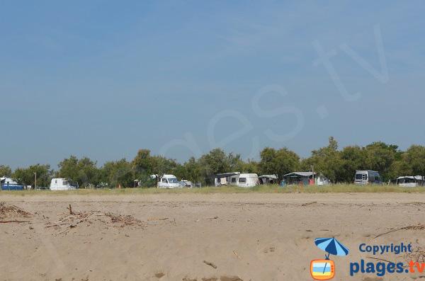 Camping sur la plage d'Empuriabrava