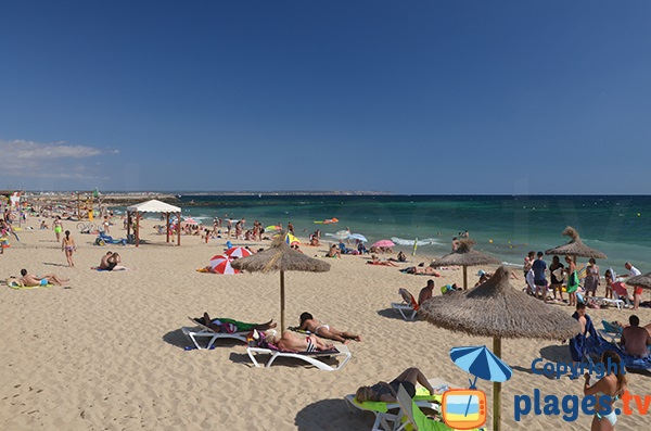Beach near the Port of Portixol - Palma de Mallorca