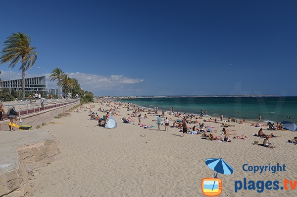Photo de la plage de Ca'n Pere Antoni à Palma de Majorque - Baléares