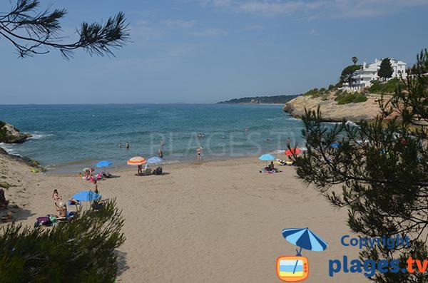 Photo de la plage de Canyadell à Torredembarra en Espagne