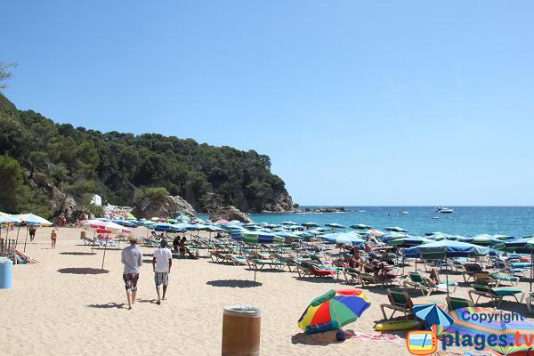 Private beach in Lloret de Mar - Canyelles