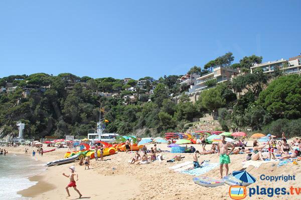 Beach in Lloret de Mar - Canyelles