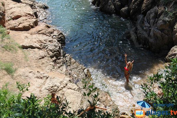 Crique de Canyet à Sant Feliu de Guíxols