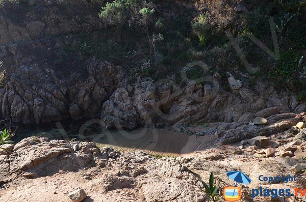Petite crique à Canyet de Mar