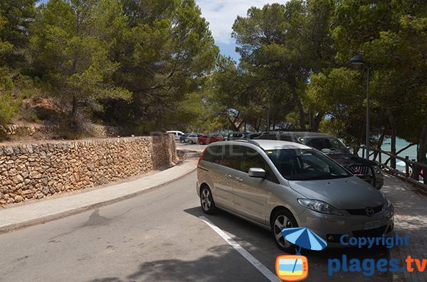 Parking de la plage du Cap Roig - l'Ampolla