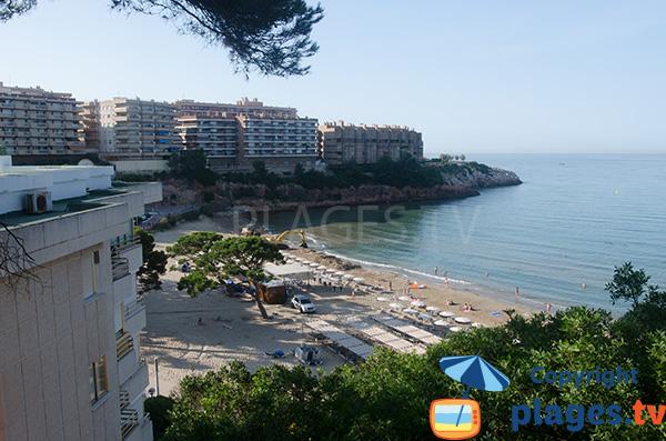 Photo de la plage des Capellans à Salou - Espagne