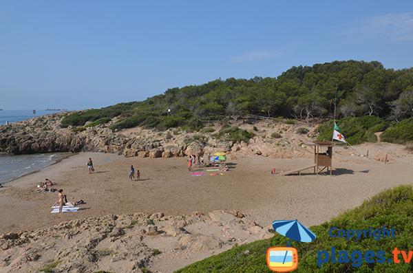 Criques des Capellans à Tarragone - Espagne